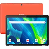 HAOQIN H10 Android Tablet 10.1 Inch 2GB RAM – Android 9.0 Pie Quad Core 32GB Storage Tablet PC with WiFi Bluetooth 5MP+2MP Dual Camera 6000mAh Support Google (Orange)