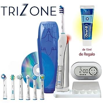 Cepillo Eléctrico Oral B TRIUMPH 5000 con TriZone y 7 recambios + Dvd INCLUÍDO, Edición