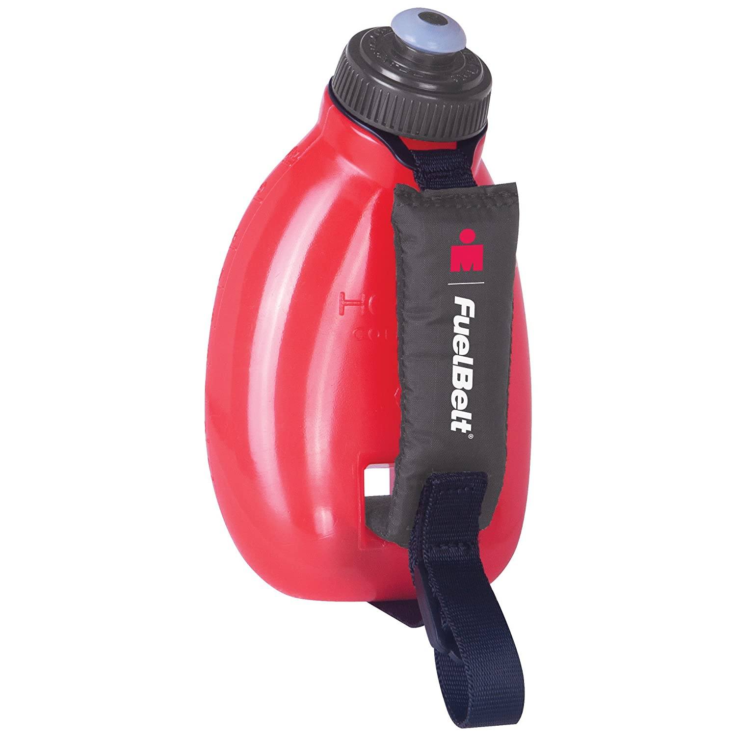 FueltBelt Hydration Accessory FuelBelt Ironman Helium Sprint Palm Holder, Black/Red, One Size, 60431#0009941