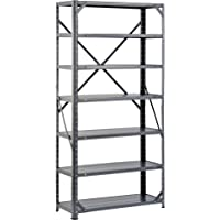 Edsal 60 in H x 30 in W x 12 in D Steel Canning Shelving Unit