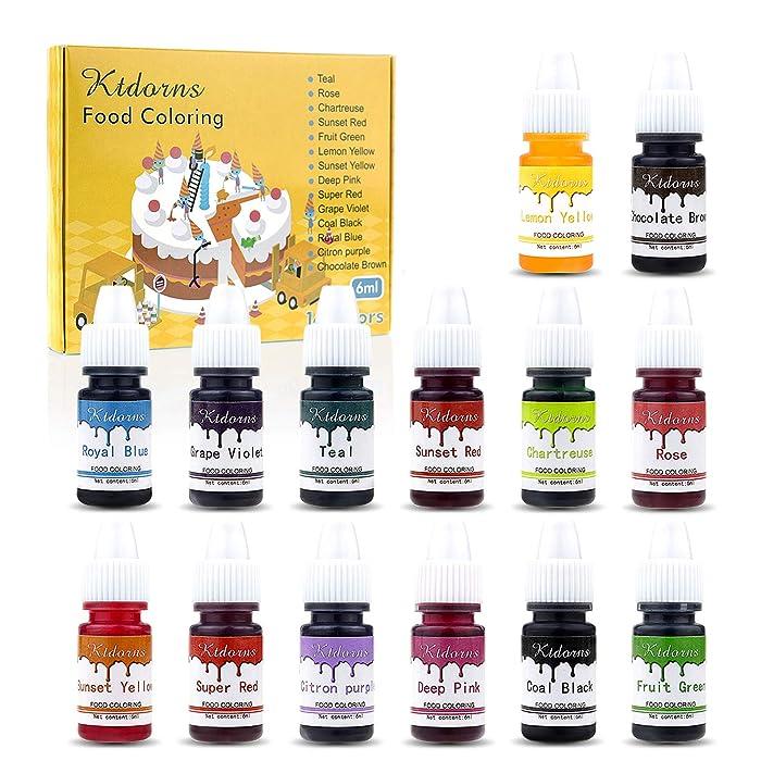 Top 10 Maddie Rae's Food Coloring Kit