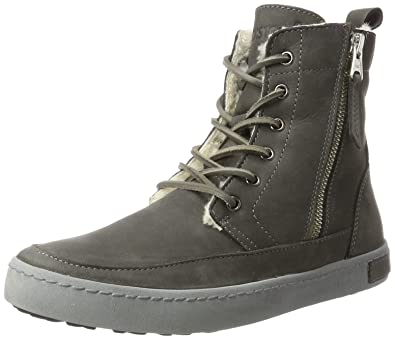Blackstone Damen OL26 Hohe Sneaker, Schwarz (Black), 41 EU