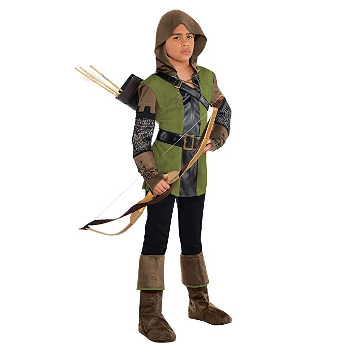 Amscan El rey de los Ladrones Robin Hood Disfraz infantil niño