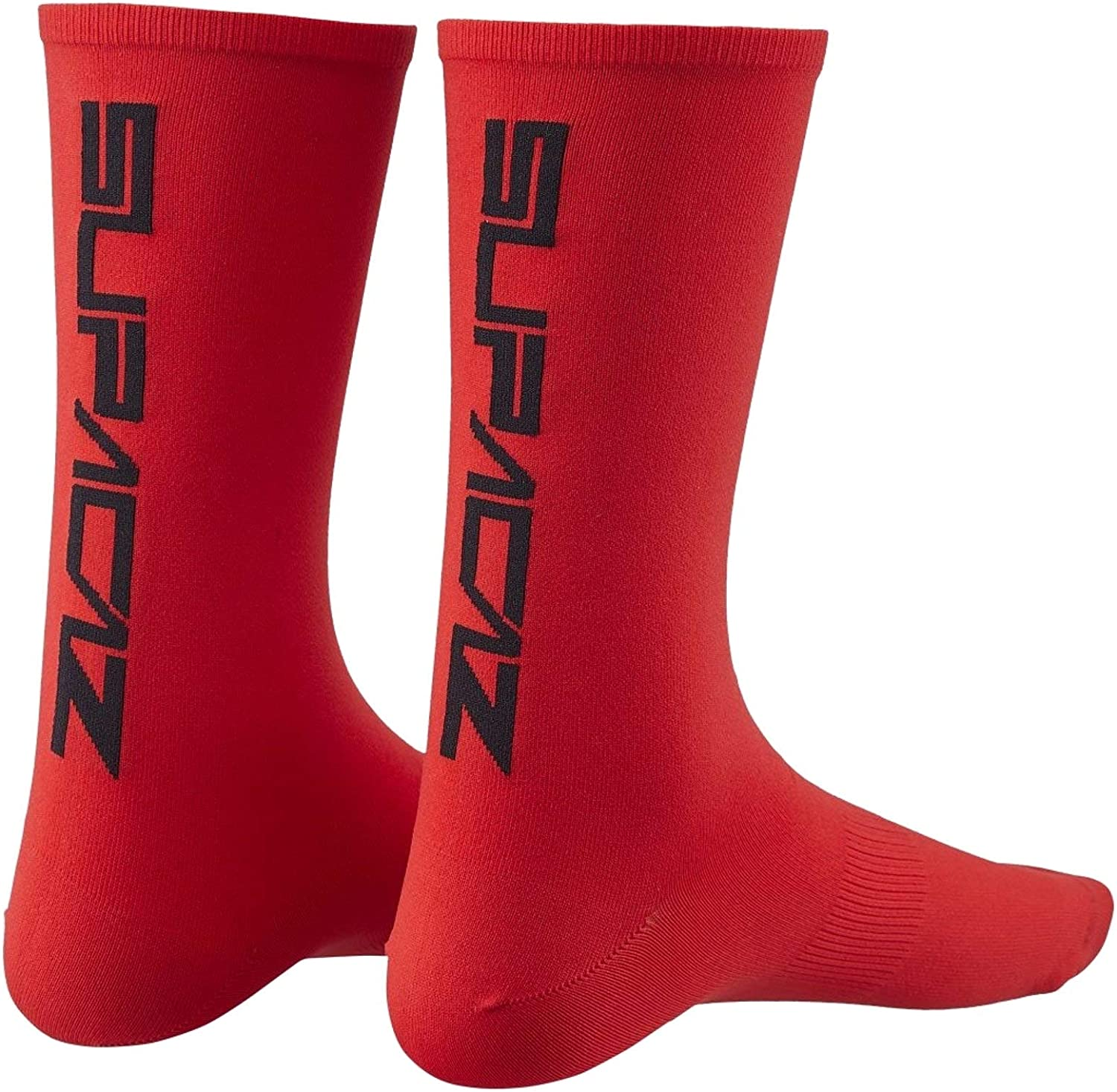 Supacaz Socks Red-L/XL Calcetines de ciclismo, Rojo, Estandar para ...