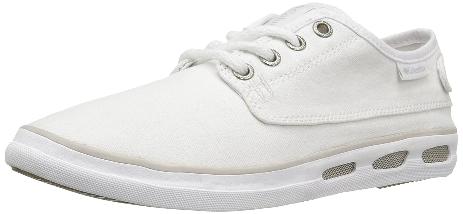 Columbia Women's Vulc N Vent Lace Outdoor Athletic Sandal B01HFH67PM 8.5 B(M) US|White, Oyster