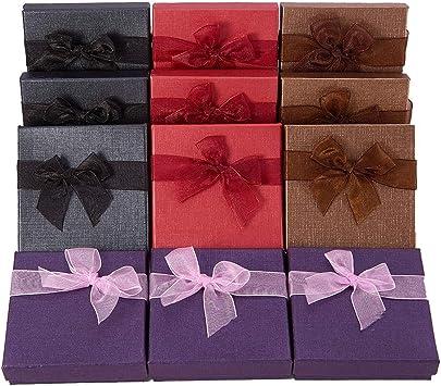 BENECREAT 12 Pack Cajas de Regalo de Brazalete de Joyeria de ...