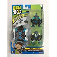 Ben10 Omni - Launch Battle figures Heatblast + OE Cannonbolt