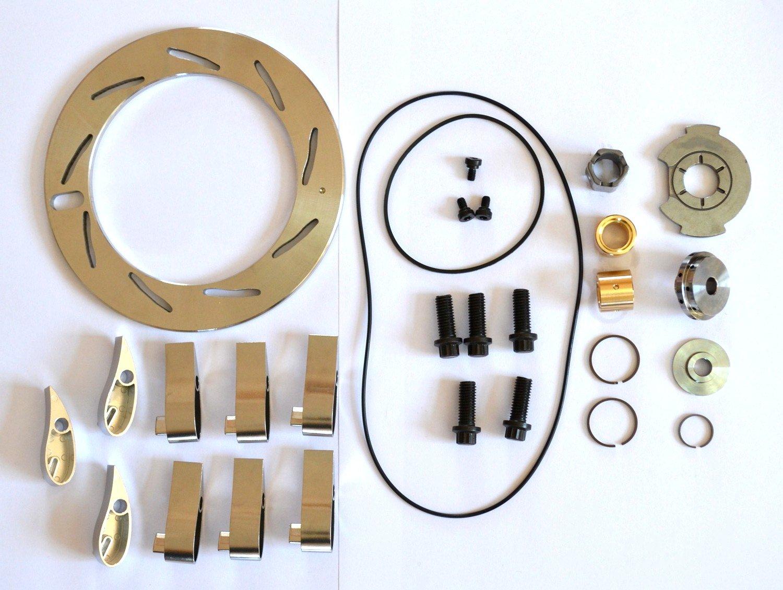 Abcturbo Turbocharger turbo GT37VA GT3782VA Unison Ring Nozzle Ring + 9 Vanes + Repair kit Rebuild kit for Ford Powerstroke 6.0L 239KW Engine Navistar Yancheng Foreign Trade Corp. Ltd.