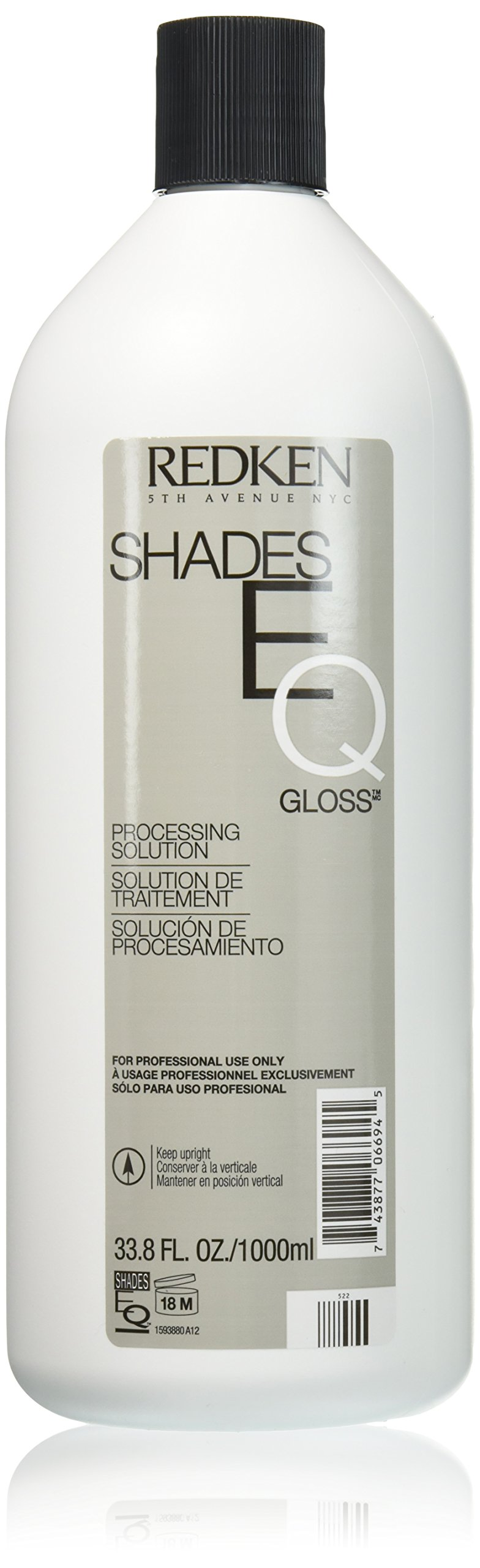 Redken Shades EQ Gloss Processing Solution 33.8 Oz (1000 ml) by REDKEN