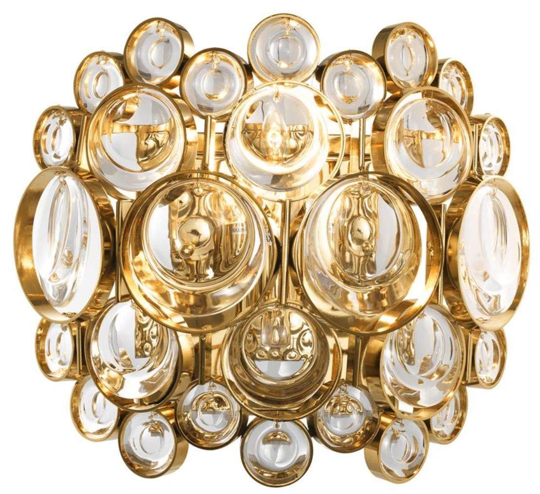 Casa Casa Casa Padrino Luxus Wandleuchte Gold 24 x 13 x H. 21 cm - Designer Wohnzimmermöbel B07H16VNMC       Große Ausverkauf  00d6b7