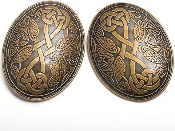 BLESSUME Cru M/édi/éval Viking Broche Norrois Style Broches Un Pi/èce