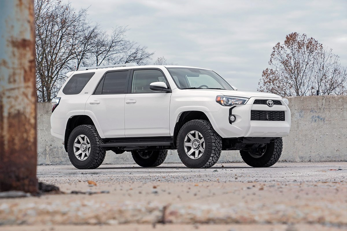 4Runner w// N3 Shocks Suspension System 76630 Toyota Rough Country 3 Lift Kit Fits 2010-2019