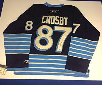 cheap for discount c077e 3f2c3 Autographed Sidney Crosby Jersey - Winter Classic - PSA/DNA ...