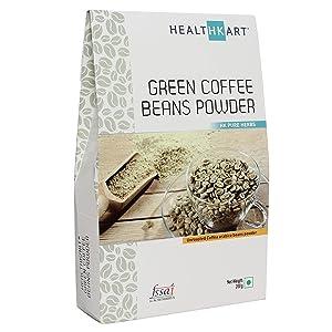 Healthkart 100% Natural Green Coffee Bean Powder For Weight Management - 200Gm