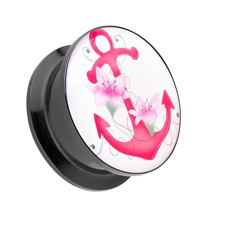 Plug Kunststoff Schmetterling Ohr neu Piercing Tunnel Dehner Tattoo