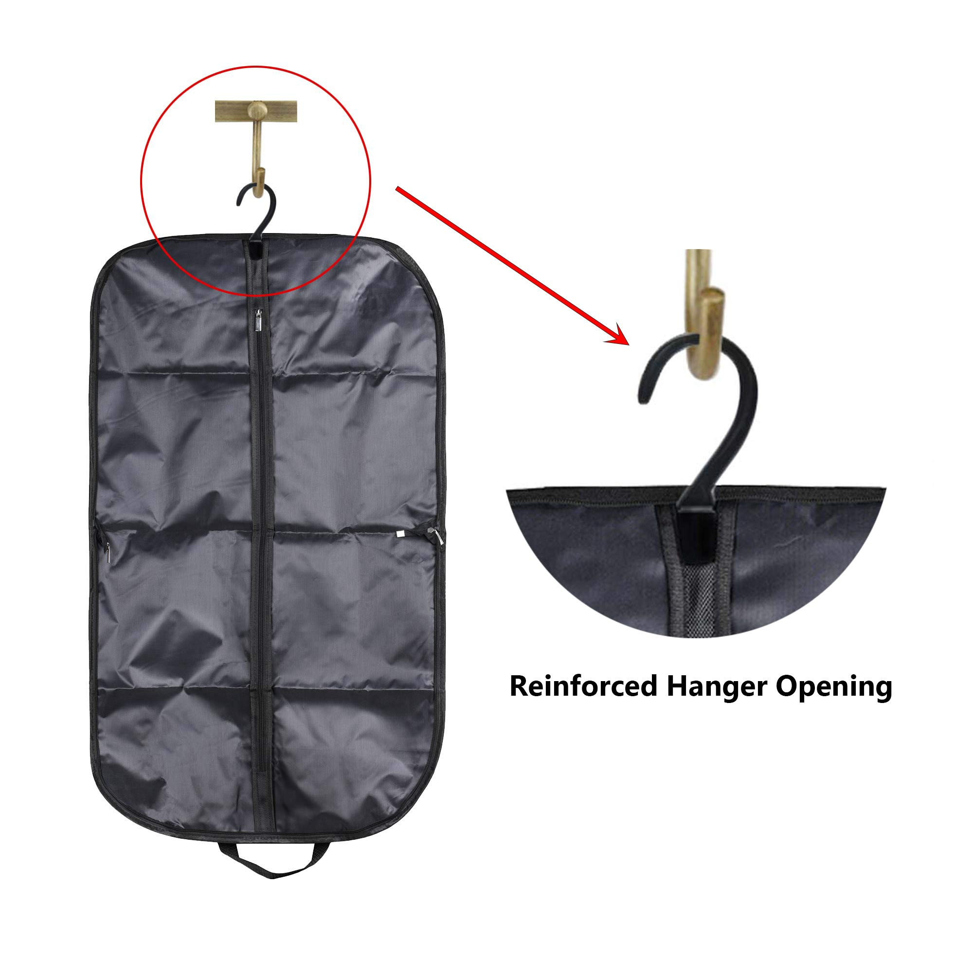 COSMOS Suit & Dress Travel Storage Garment Bag Carry Bag with Handles, 39 x 23 inches by CM (Image #4)