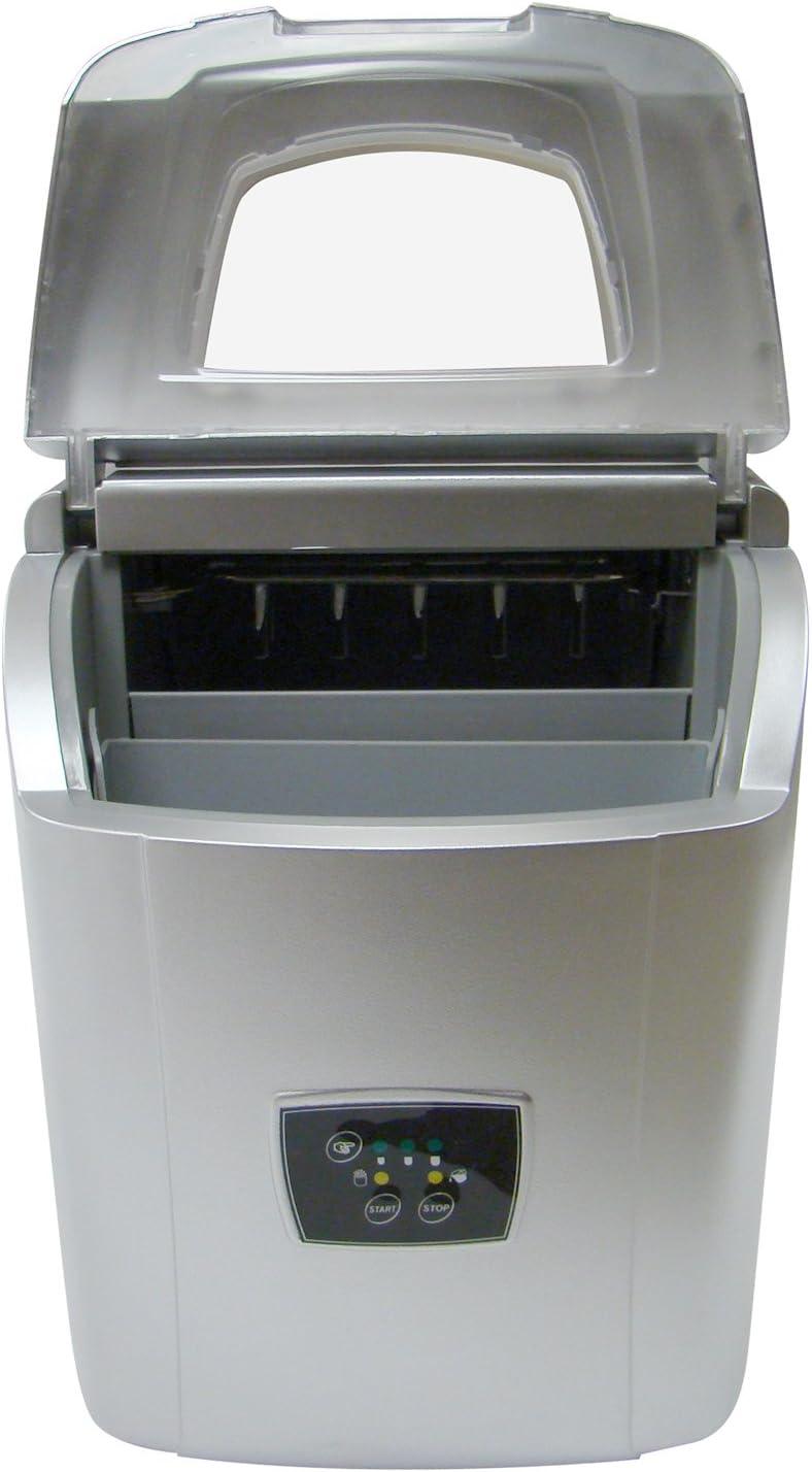 Vinotemp Portable Ice Maker, Silver