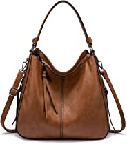 Realer Handbags and Purses for Women, Large Ladies Shoulder Bag Stylish Hobo Bag Purse