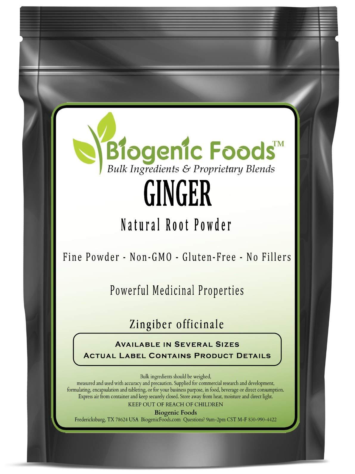 Ginger - Natural Root Fine Powder (Zingiber officinale), 25 kg