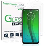 amFilm Screen Protector for Moto G7 and G7 Plus (3 Pack), Case Friendly Tempered Glass Screen Protector for Motorola Moto G7 and G7 Plus