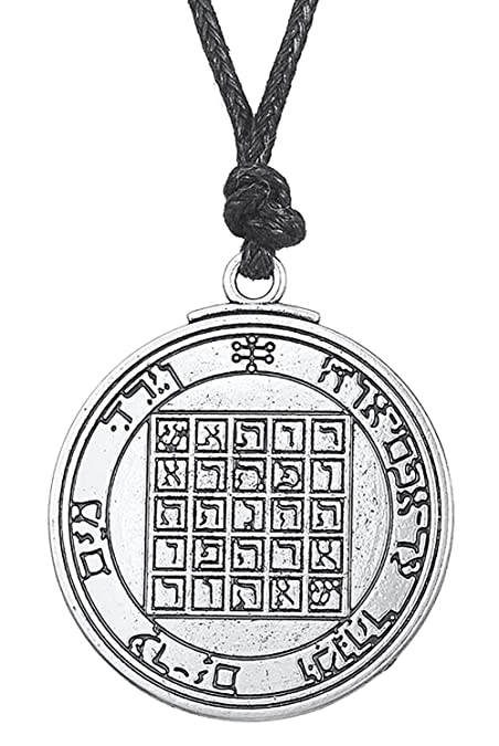 Amazon Ancient Talisman Pentacle Of Saturn Solomon Seal Pendant