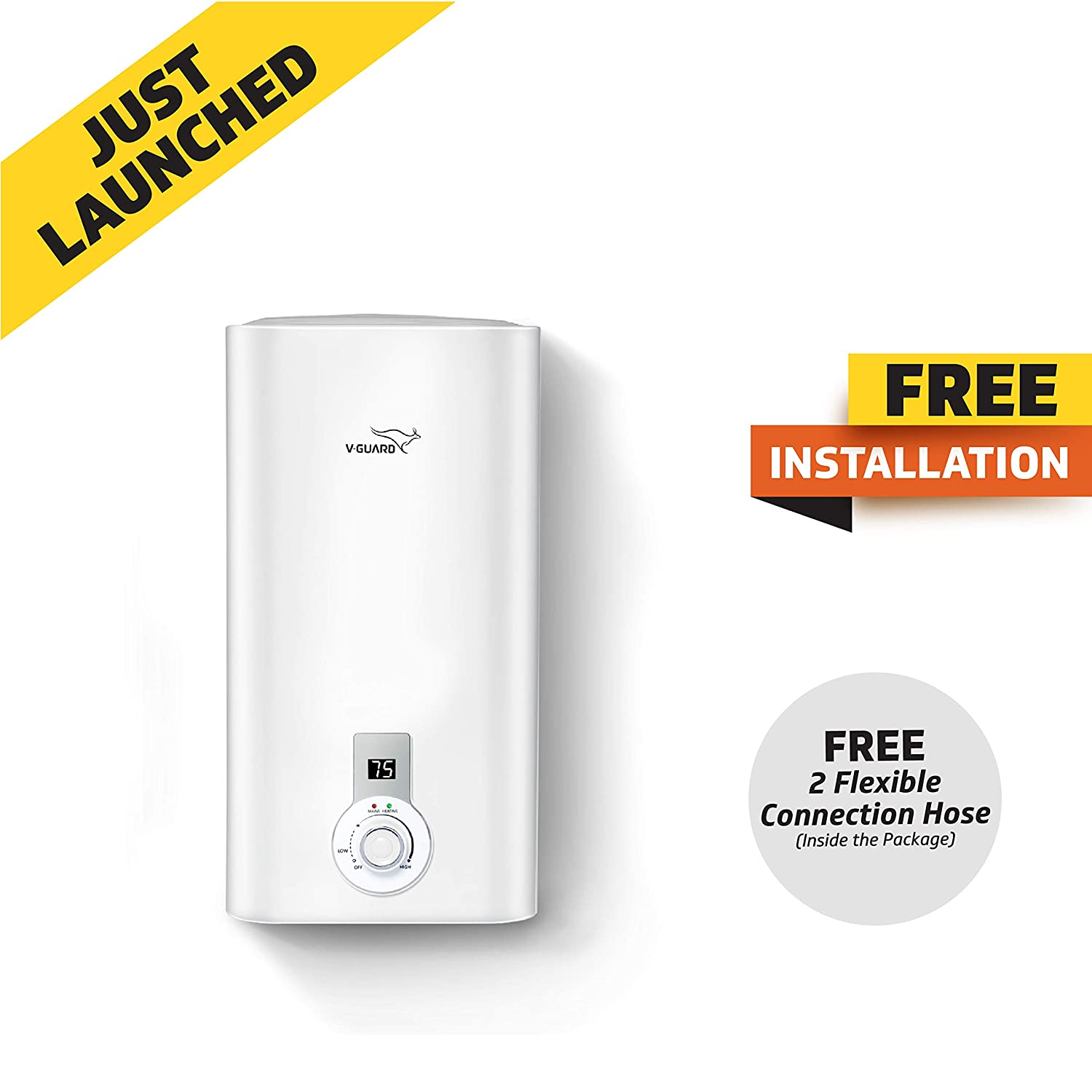 V Guard Victo Plus 25 Litre Water Heater-Free Installation
