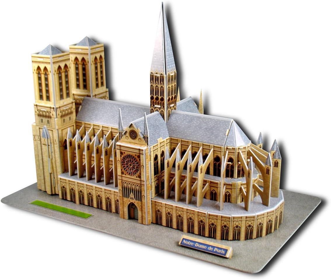 Puzzle 3D Notre Dame di Parigi 37,5 cm Cubic Fun
