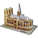 Cubic Fun - Puzzle 3D Notre Dame di Parigi 37,5 cm