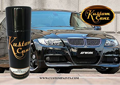 Amazon com: BMW Diamond Black - AEROSOL CAN Paint Code 181: Automotive