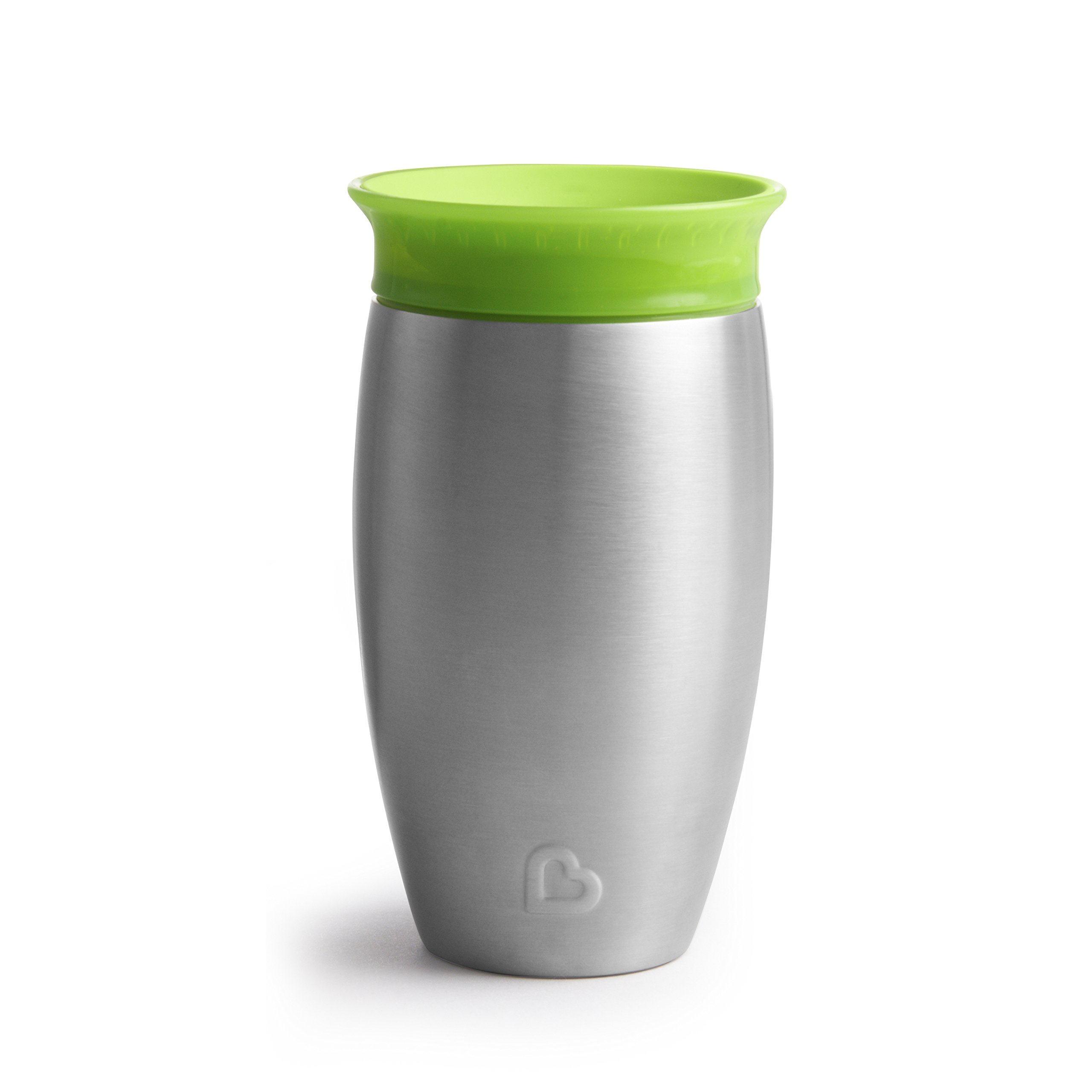 Munchkin Miracle Stainless Steel 360 Sippy Cup, Green, 10 Ounce by Munchkin (Image #5)