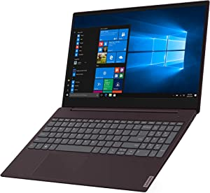 "2019 Lenovo ideapad S340 15.6"" HD Premium Home & Business Laptop, Intel Quad Core i5-8265U Upto 3.9GHz, 8GB RAM, 128GB SSD, USB-C, WiFi, HDMI, Webcam, Windows 10, Dark Orchid"