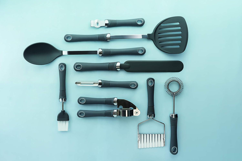 18.5/cm Kitchencraft Spremiaglio Professionale con Manico Morbido 19,1/cm