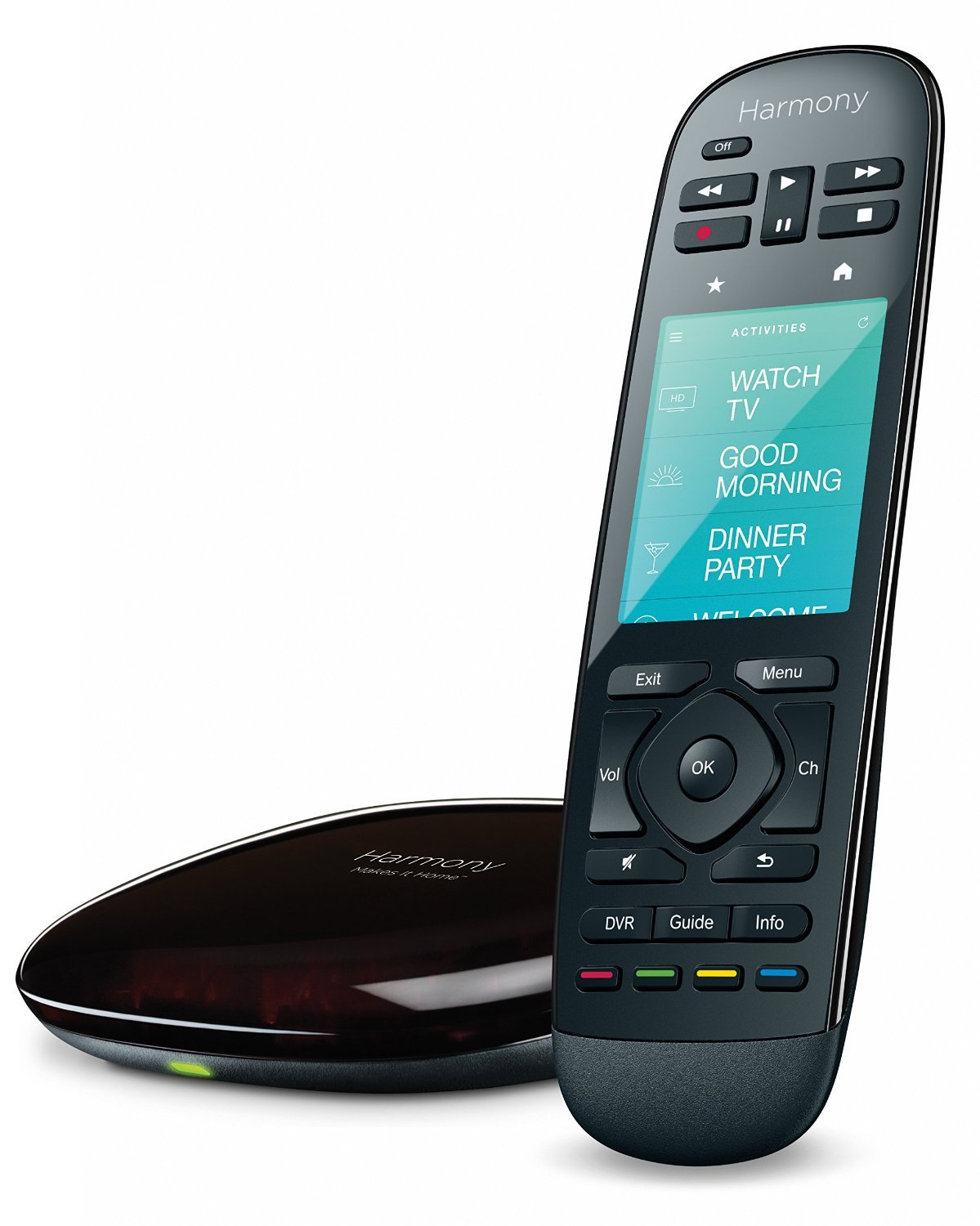 Amazon.com: Logitech 915-000237 - Harmony Ultimate Home Touch Screen Remote  - Black (Certified Refurbished): Home Audio & Theater