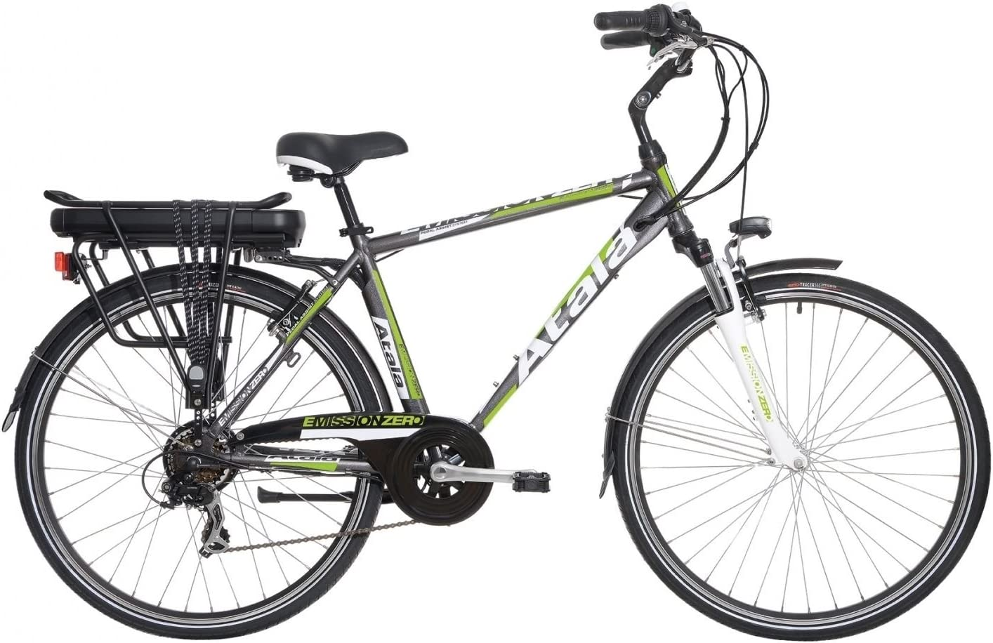 Bicicleta eléctrica de paseo Atala E-Mission 0, para hombre, rueda ...