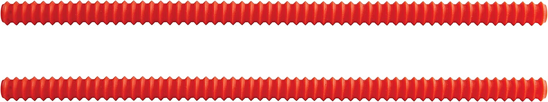 HIC Kitchen Silicone Shield, European-Grade Silicone, Set of 2, 14-Inches x .5-Inches
