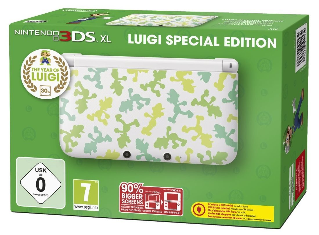 Nintendo 3DS XL - Luigi Edition
