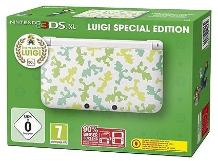 Console Nintendo 3DS XL + Luigi Spéciale - Édition Limitée ...