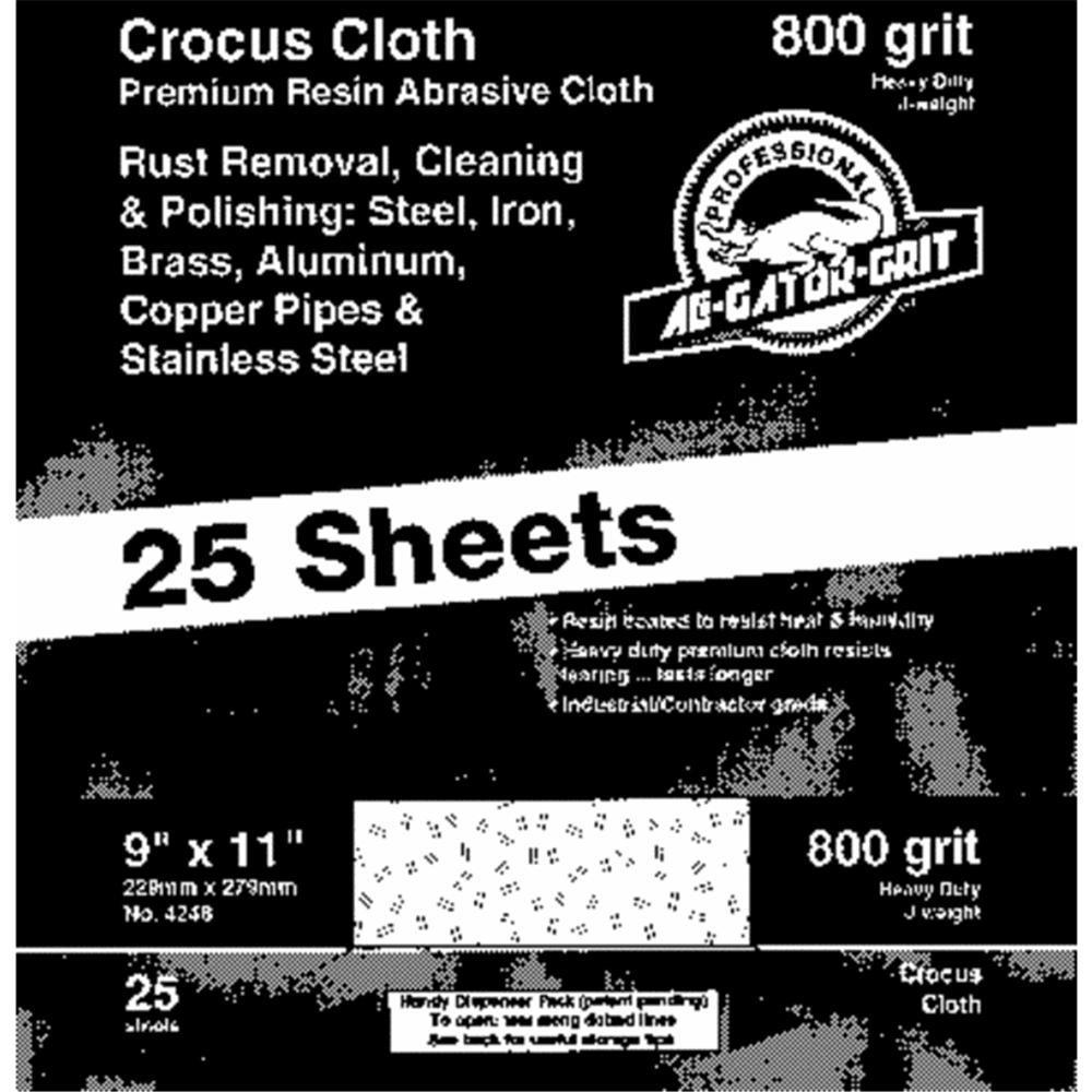 9X11 800G CROCUS CLOTH Bulk Crocus Cloth