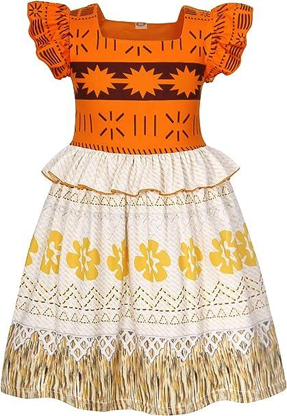 Amazon.com: Disfraz de princesa de HenzWorld para niñas y ...