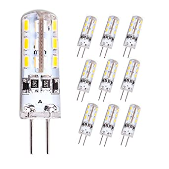 LED-Stiftsockel-Lampe G4 24 SMD LEDs 100lm warmweiß Leuchtmittel G 4 12V Birne