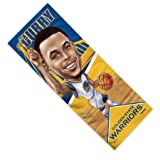 "Mission NBA Caricature Enduracool Microfiber Towel, Golden State Warriors Steph Curry, 12"" x"