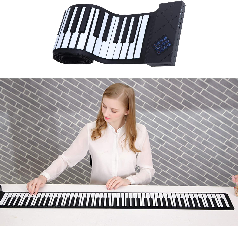 abcGoodefg Teclado de Piano portátil con 88 Teclas ...