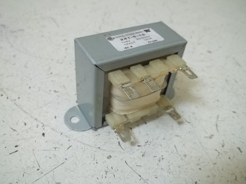 SIGNAL TRANSFORMER 241-5-10 115V 50//60HZ 10VCT 12VA *NEW OUT OF A BOX*