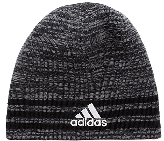 Amazon.com  adidas Boys   Youth Eclipse Reversible Beanie d5ca018ab6c0