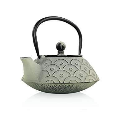 Empress Of China Cast Iron Teapot | Temperature Retaining Cast Iron Kettle | Teapot With Infuser | Non Toxic Tea Kettle | Resveralife Vintage Chinese Tea Pot Handiwork | Adding Warmth To Homes