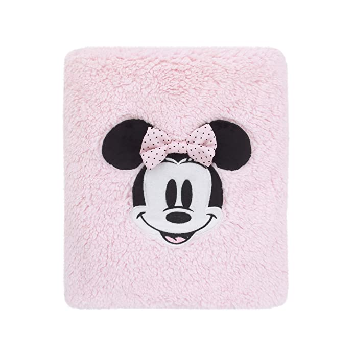 Mickey Mouse & Friends Minnie Mouse Exploration Sherpa Bed Blanket