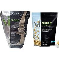 Vi Shape e Vi Cereal Crunch di Visalus per la perdita di peso del corpo nutrizionale - 930g ViShape Mix e 540g Vi Crunch Cereal
