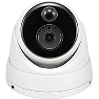 Swann Thermal Sensing PIR Security Camera: 5MP Super HD Dome with IR Night Vision - NHD-866MSD, (SWNHD-866MSD-AU),White