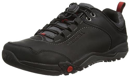 MerrellHelixer Morph - Botines Hombre, Color Negro, Talla 41 EU: Amazon.es: Zapatos y complementos