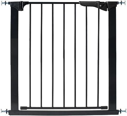 Kidco G1001 Gateway Baby Pet Pressure Mounted Safety Gate-Black